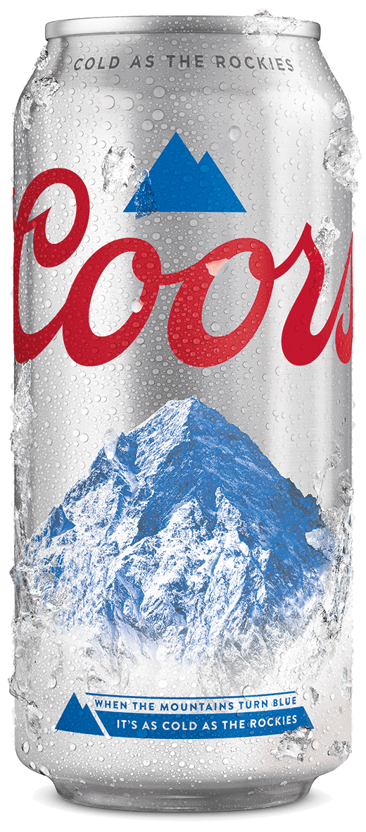 Coors 440ml can iced