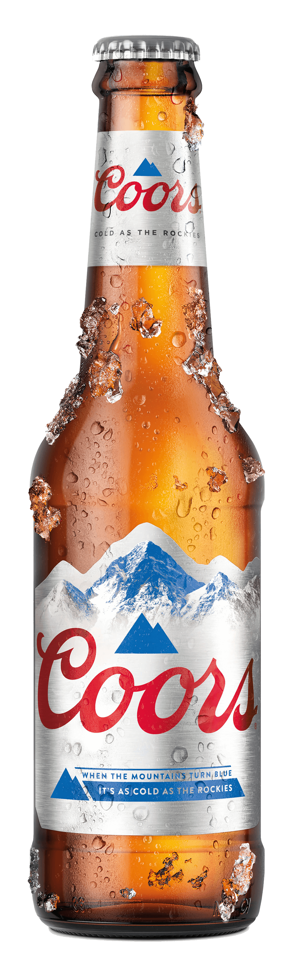 Coors 330 bottle iced