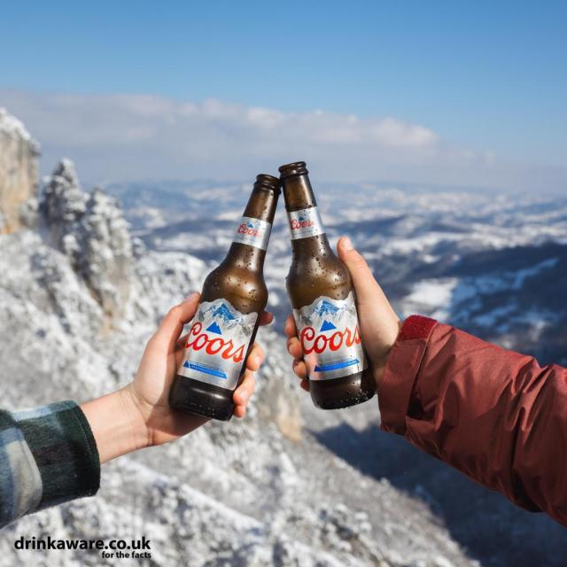 Cheers to a fresh new week!   #Coors #CoorsFresh   Brewed in the UK.