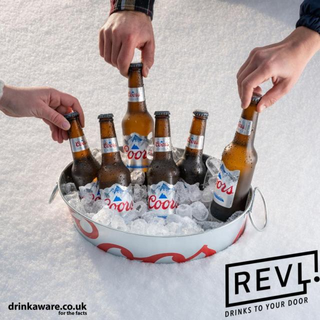 HAPPY BANK HOLIDAY!   Imagine having mountain cold refreshment delivered straight to your door, without even having to leave the house..   Starting today, you can get 10% off Coors and through REVL until 12 noon on Friday 4th June 2021 by using the code COORS10 at checkout! (Link in our bio)  #CoorsFresh #Coors