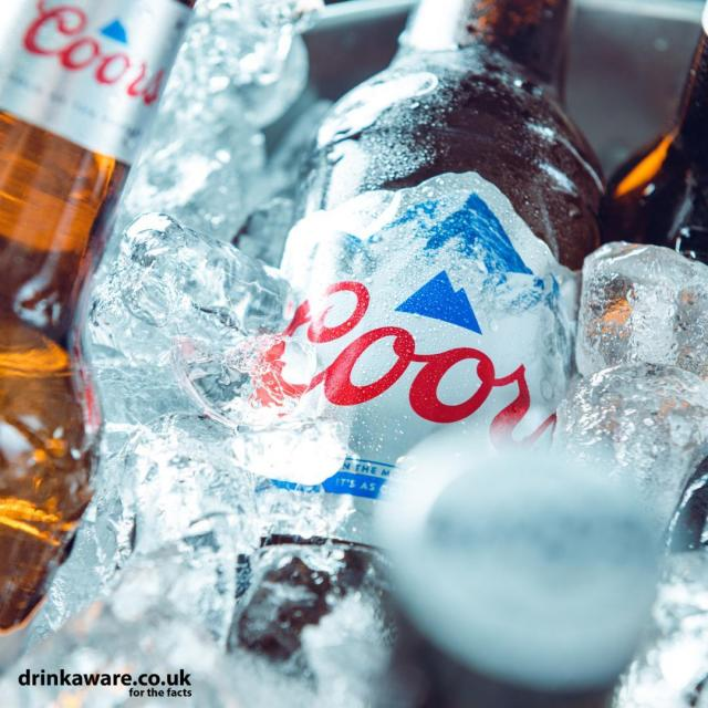 As cold as ice ❄  The Freshest way to keep your Coors as cold as the Rockies!    #Coors #CoorsFresh