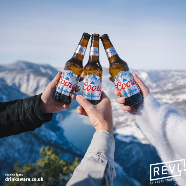 Are you ready for the Bank Holiday weekend?   Get Coors delivered directly to your door with 15% off this weekend with @REVLDrinks!  Just use the code AUGUST15 at checkout!   Link in our bio!  #Coors #CoorsFresh #BankHoliday  18+, UK excluding NI. Subject to availability. Promotion opens 23/08/21 until 26/08/21 at 12:00 midday. Cannot be used in conjunction with any other offer or promotion. Standard delivery rules apply. See terms and conditions at https://revl.co.uk/pages/promotional-terms-and-conditions