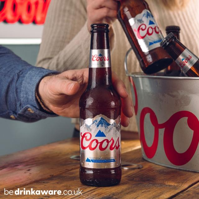 Blue mountains = Ice cold refreshment ❄  #Coors #CoorsFresh