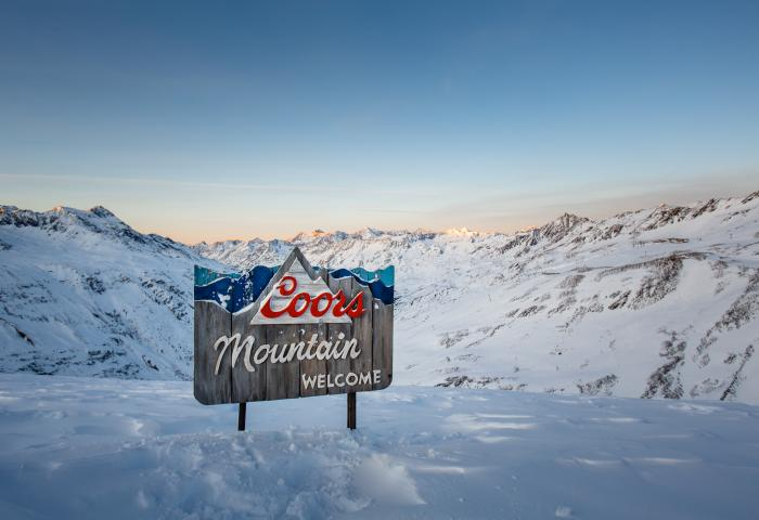 Coors Mountain Welcome
